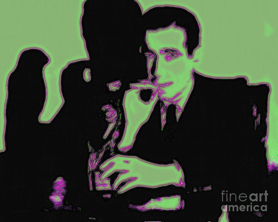 Humphrey Bogart And The Maltese Falcon 20130323 Photograph