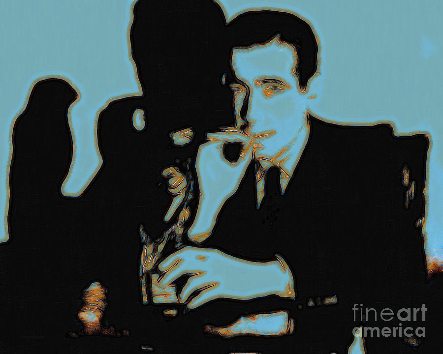 San Francisco Photograph - Humphrey Bogart And The Maltese Falcon 20130323p88 by Wingsdomain Art and Photography