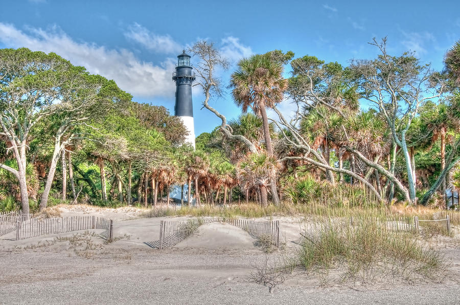 Hunting Island - Beach View Photograph  - Hunting Island - Beach View Fine Art Print