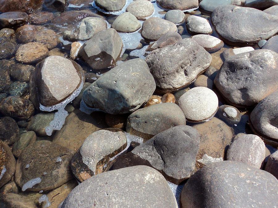 Huron Rock Pool Photograph