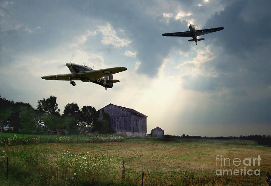 Hurricanes And The Donnelly Barn Photograph  - Hurricanes And The Donnelly Barn Fine Art Print
