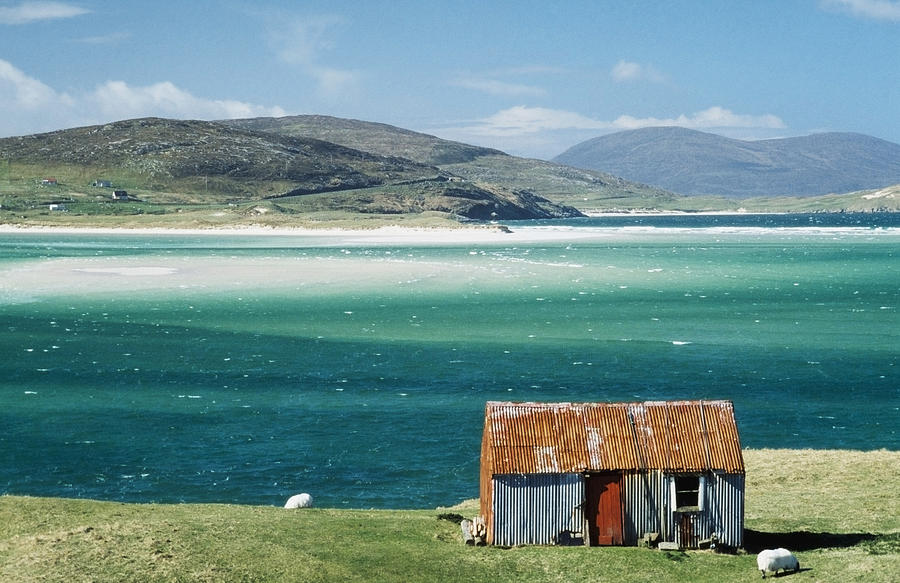 Hut On West Coast Of Isle Photograph  - Hut On West Coast Of Isle Fine Art Print