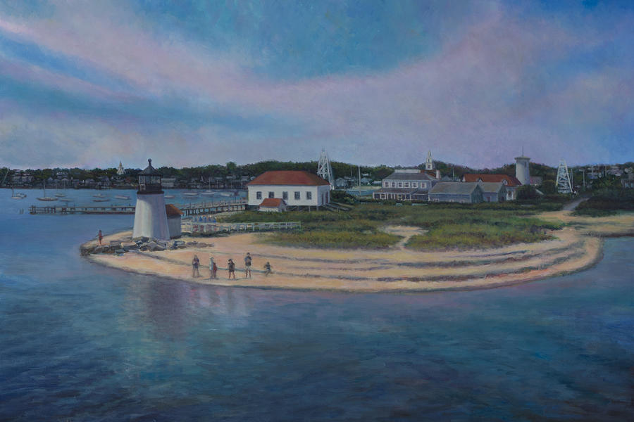 Hyannis Port Cape Cod Painting  - Hyannis Port Cape Cod Fine Art Print
