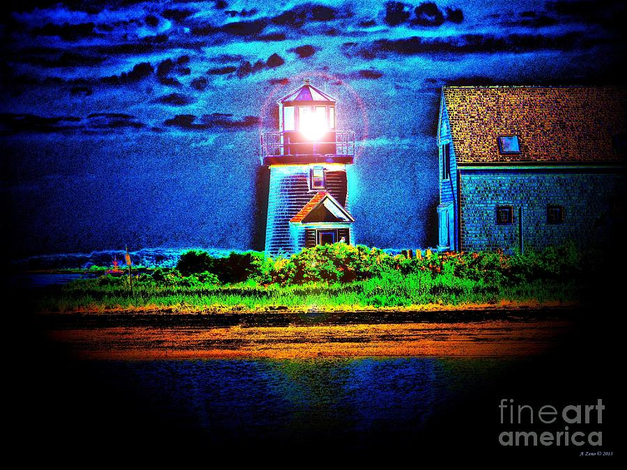 Hyannis Port Lighthouse 2 Photograph  - Hyannis Port Lighthouse 2 Fine Art Print