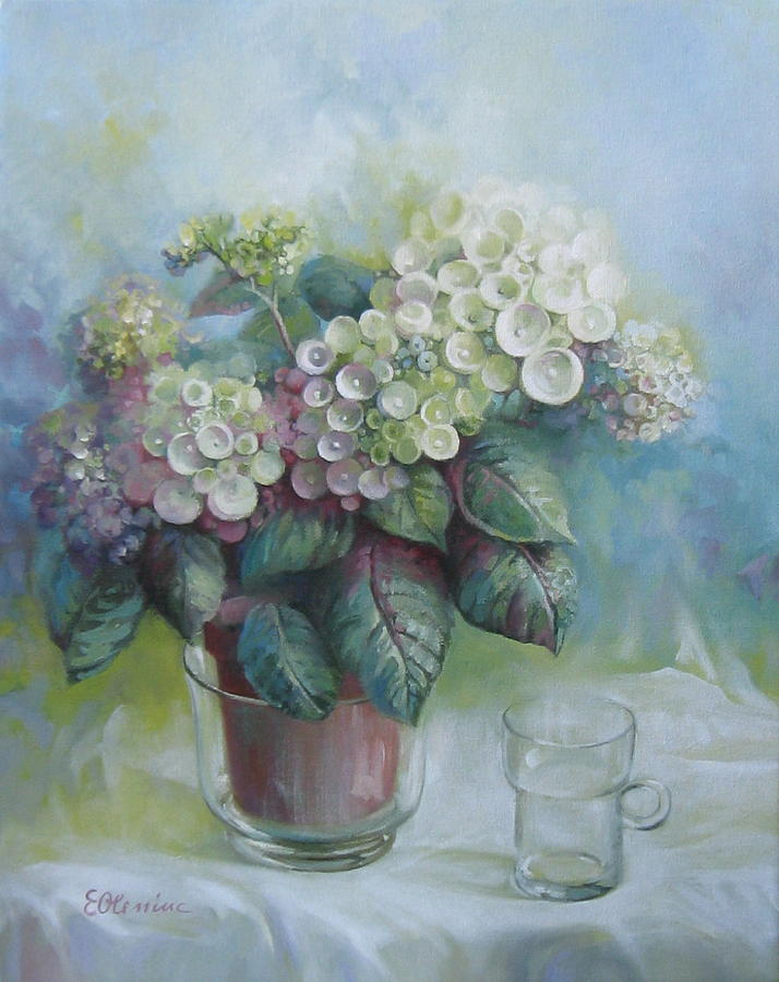 Hydrangea-Art Hydrangea is a painting by Elena Oleniuc which was ...