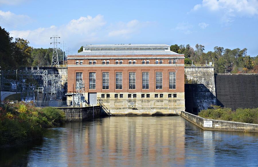 Photograph - Hydroelectric Power by Susan Leggett