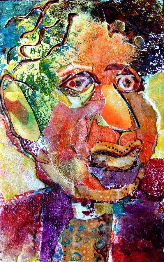 Hymie Mixed Media  - Hymie Fine Art Print