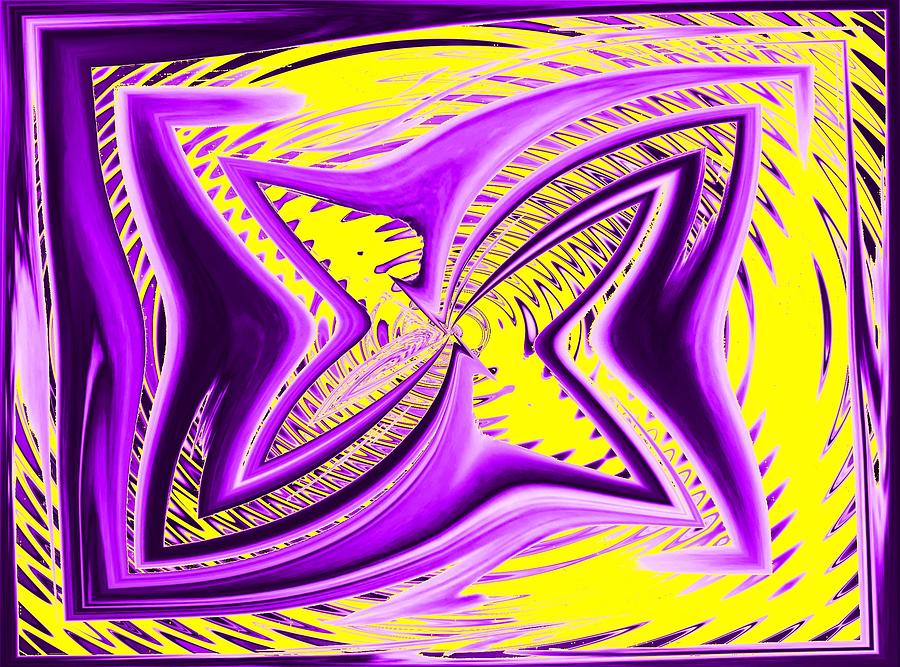 Hypnotic Digital Art  - Hypnotic Fine Art Print