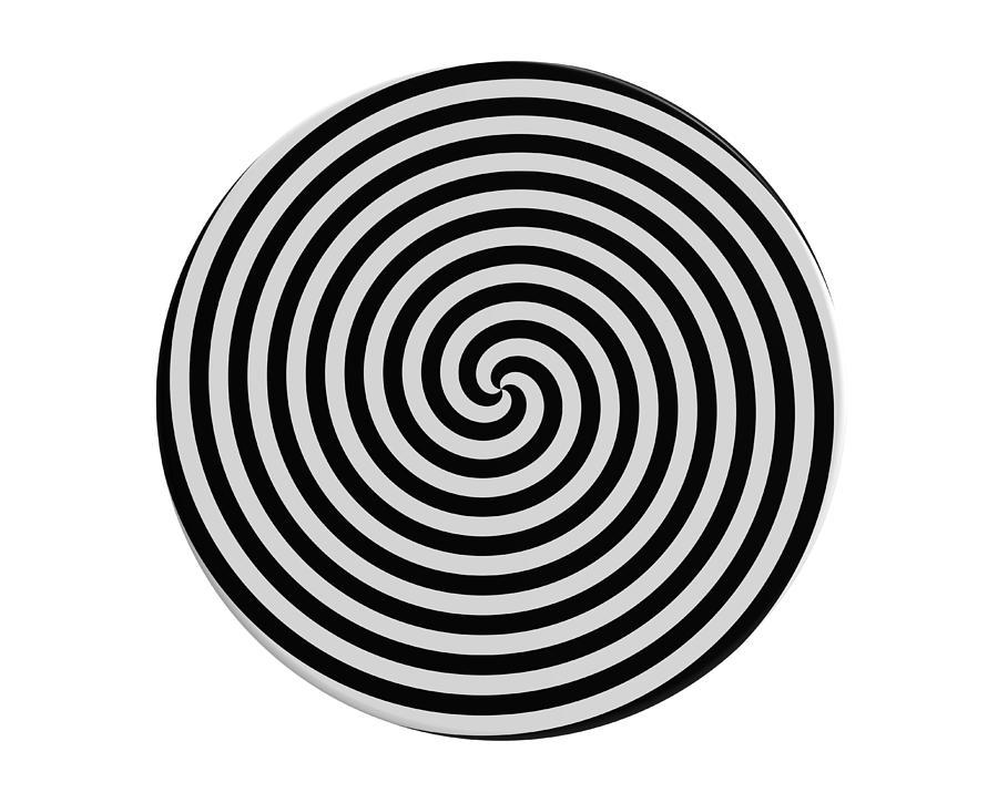 Hypnotic Spiral Photograph