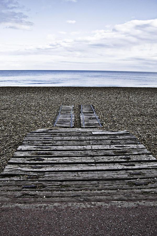 Hythe Beach Kent Pyrography
