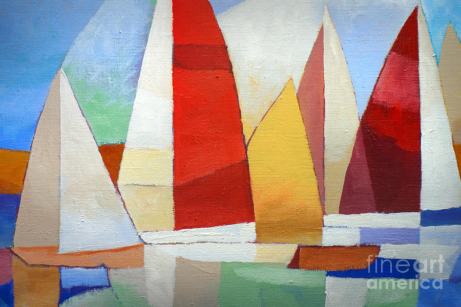 I Am Sailing Painting