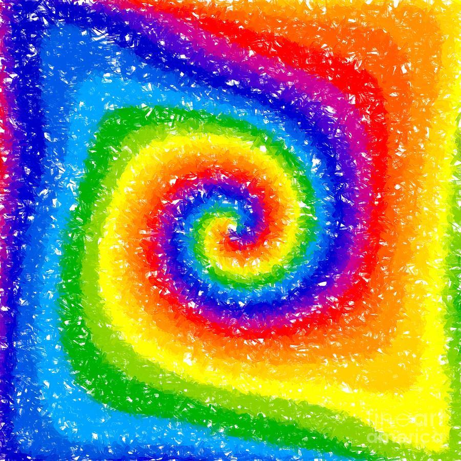 Rainbow Digital Art - I Can See A Rainbow by Chris Butler