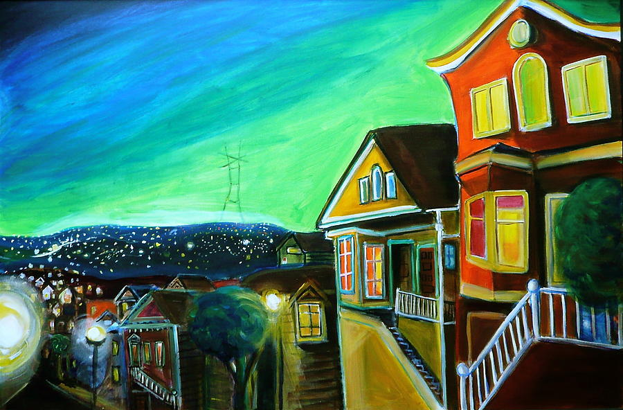 I know where to find happiness painting by nathalie fabri for Where to buy fine art