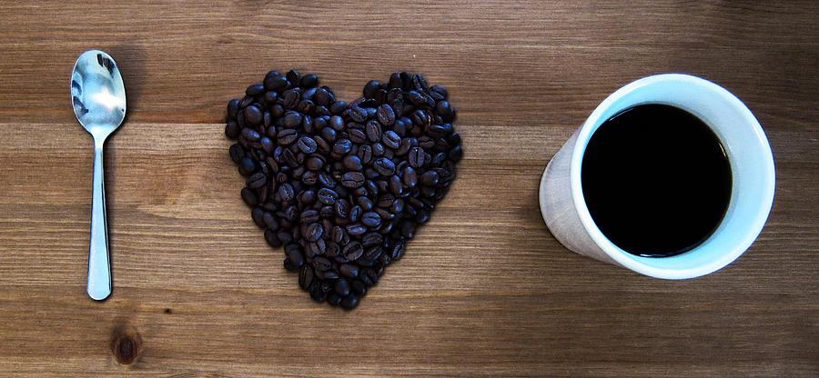 I Love Coffee Pyrography