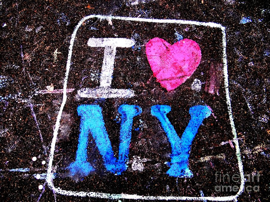 I Love Ny Photograph