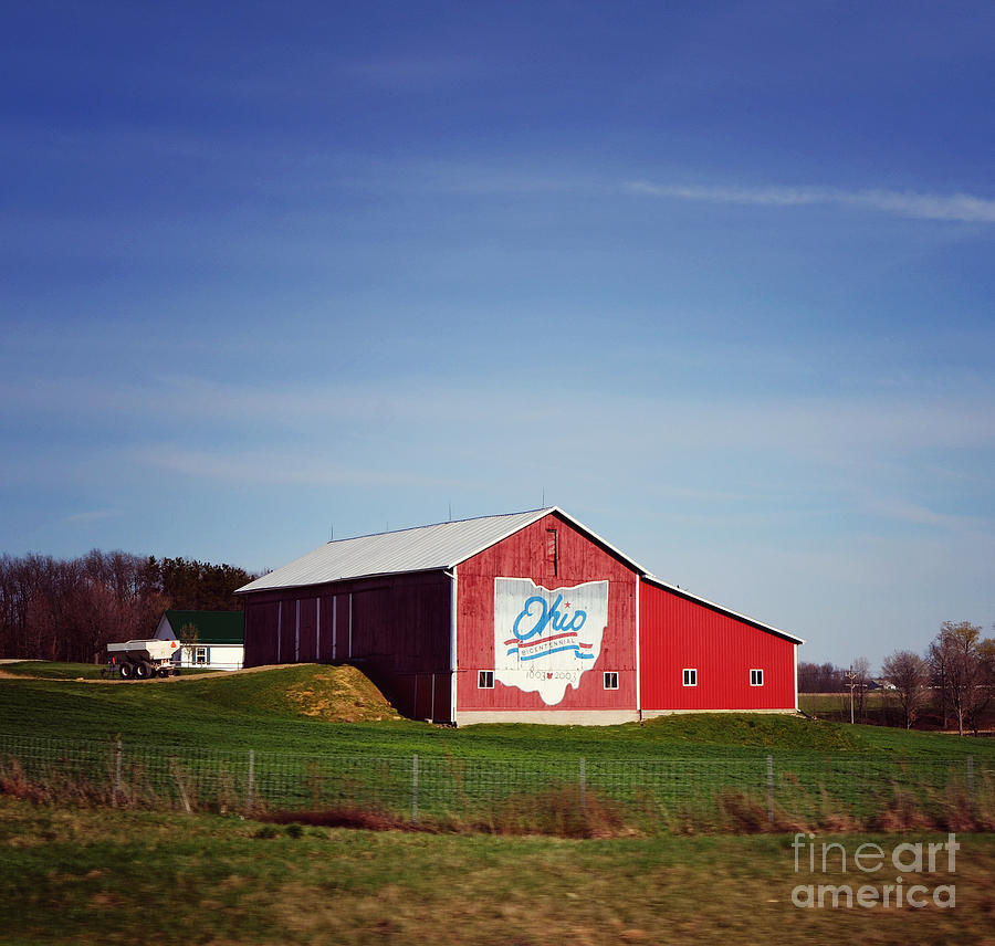 I Love Ohio Photograph  - I Love Ohio Fine Art Print