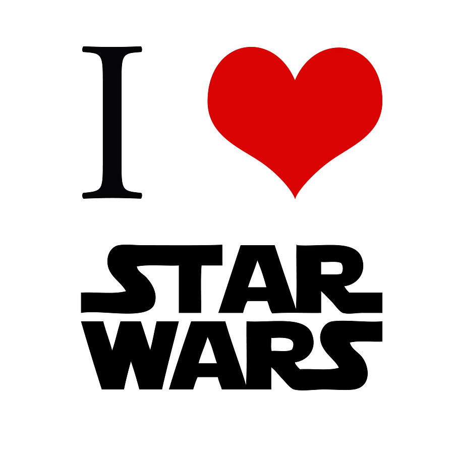 Love Star Wars is a piece of digital artwork by Gina Dsgn which was ...