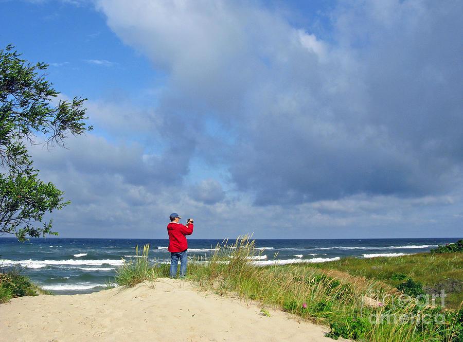 I See The Sea. Juodkrante. Lithuania Photograph