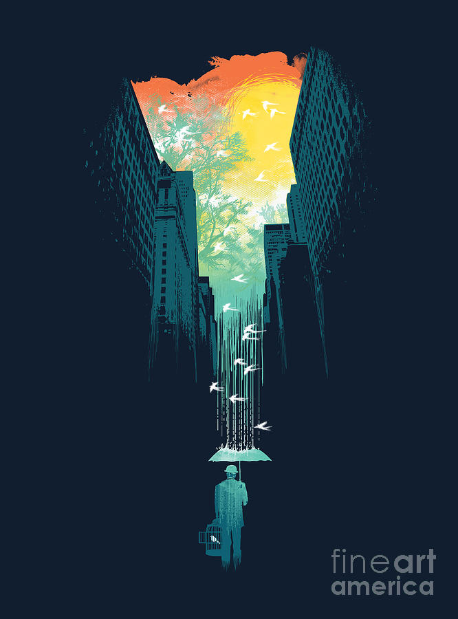 I Want My Blue Sky Digital Art