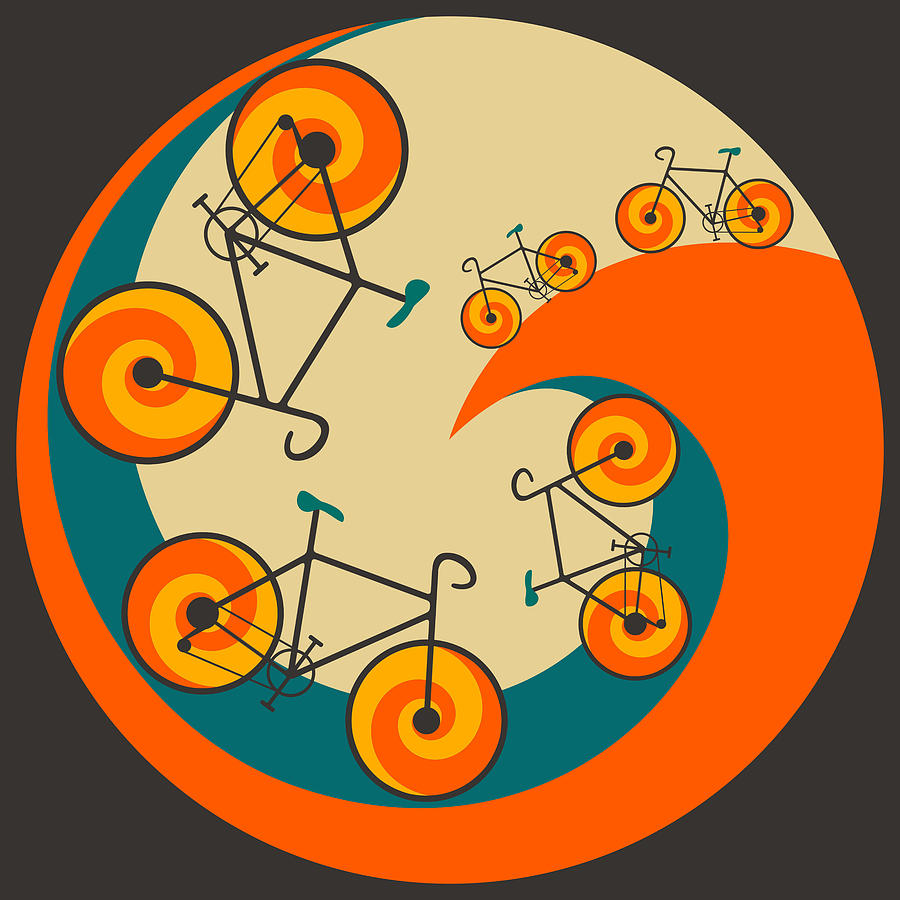 I Want To Ride My Bicycle Digital Art