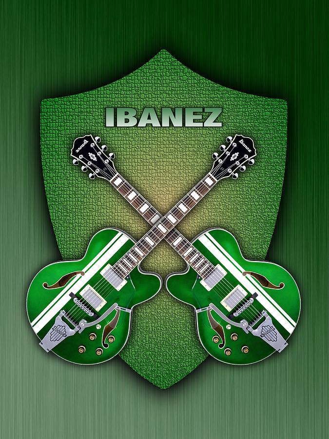 Ibanez Geen Shield Digital Art