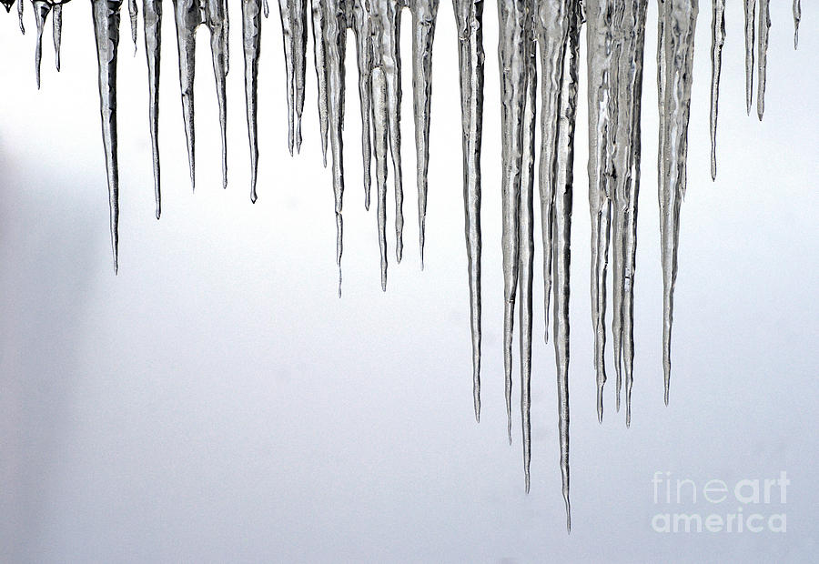 Ice Cycles Photograph  - Ice Cycles Fine Art Print