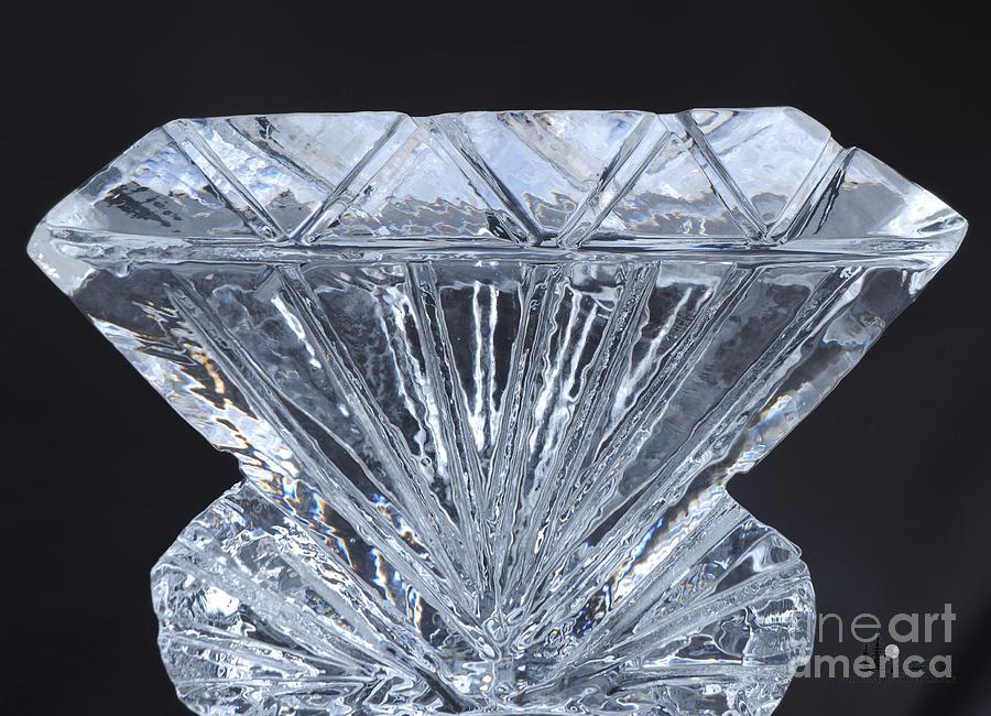 Ice Diamond Photograph By Ronald Grogan