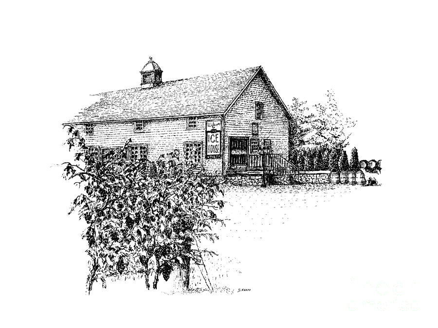 Ice House Winery Drawing