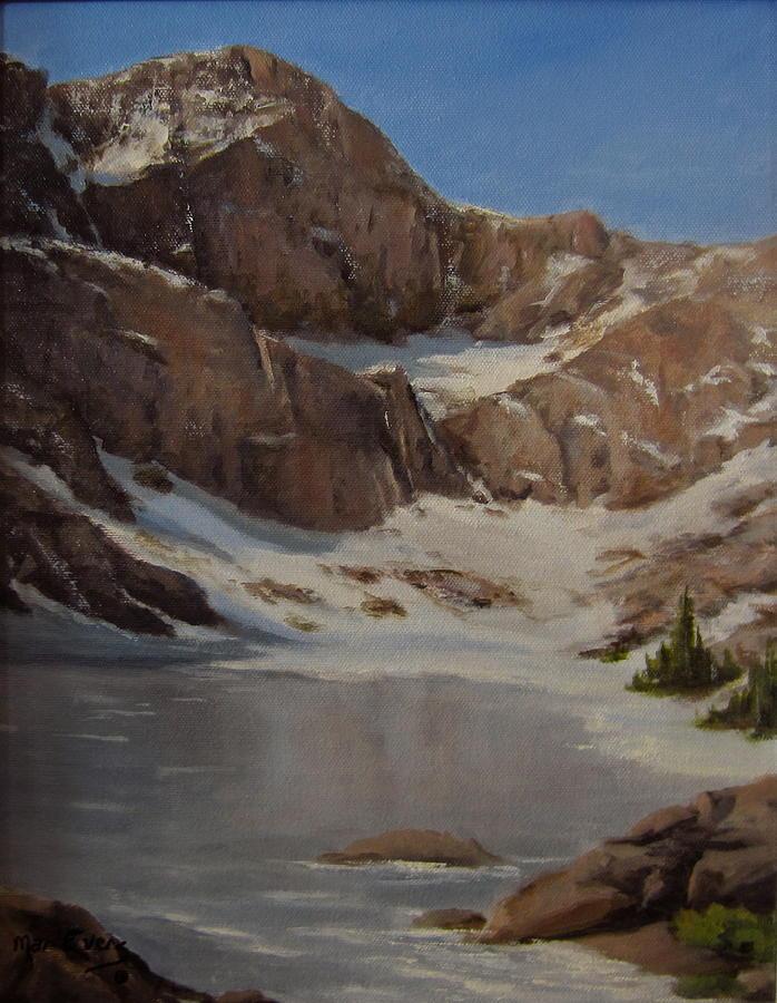 Ice Lake - July  Painting