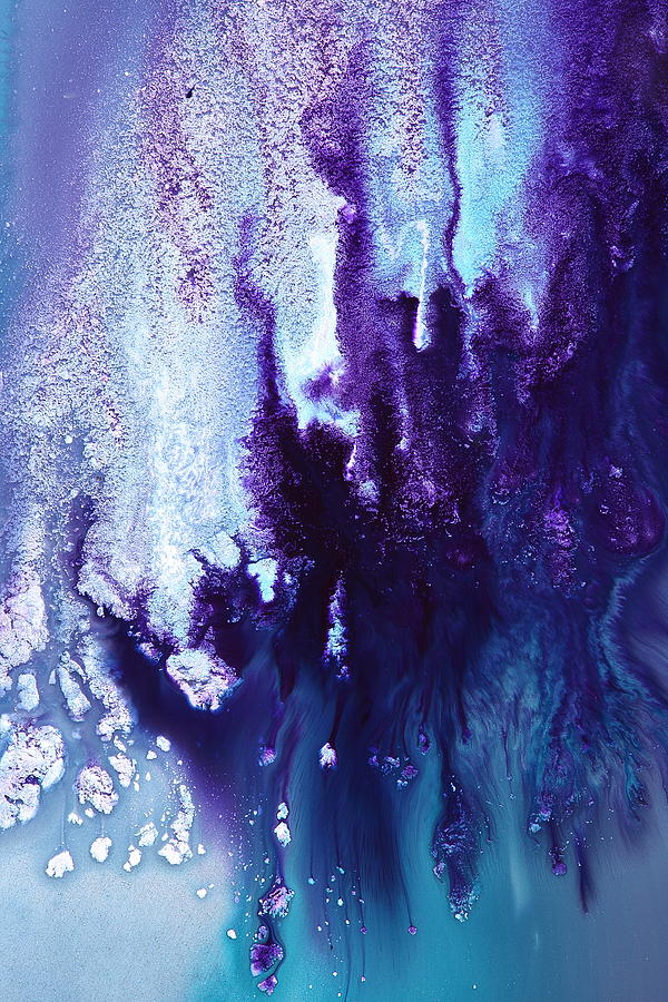 Icefall Abstract Art Photography By Serg Wiaderny Painting