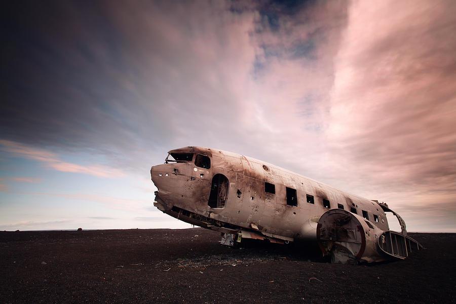 Iceland Douglas Dc-3 Photograph
