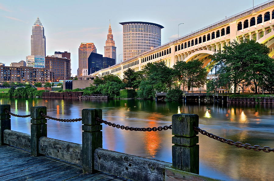 Iconic Cleveland View Photograph  - Iconic Cleveland View Fine Art Print