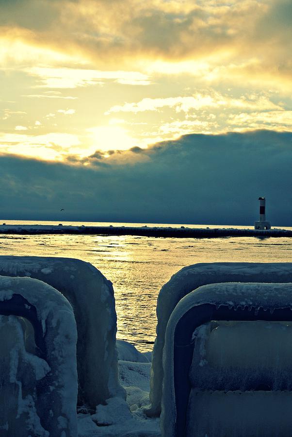 Icy Path Photograph