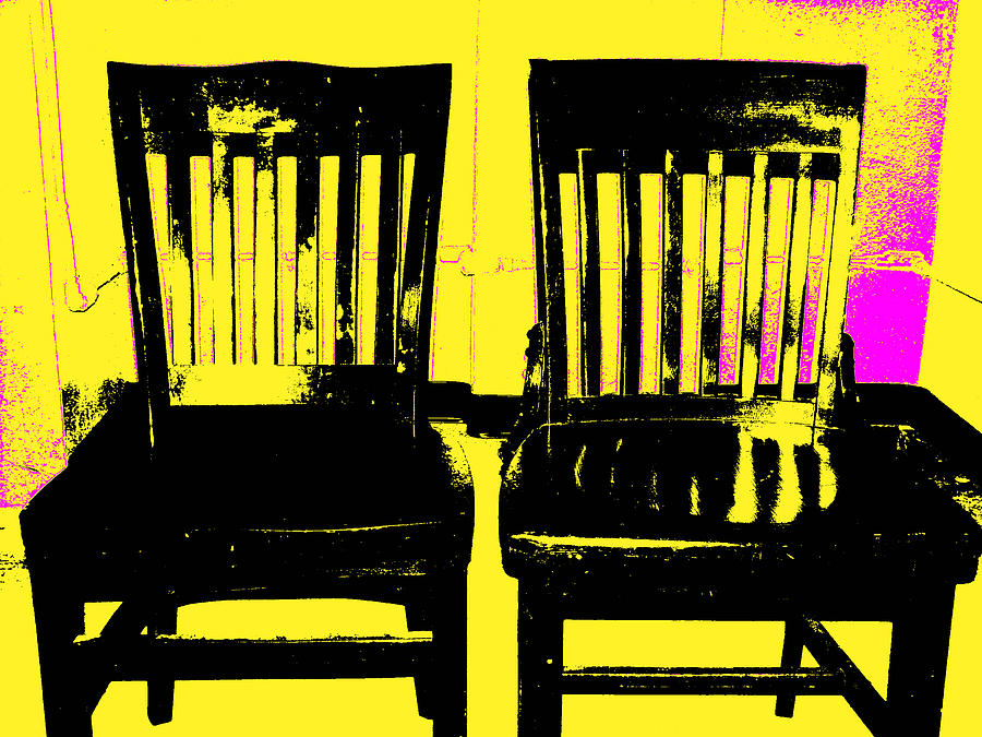 Chair Digital Art - Identity Crisis by Wendy J St Christopher