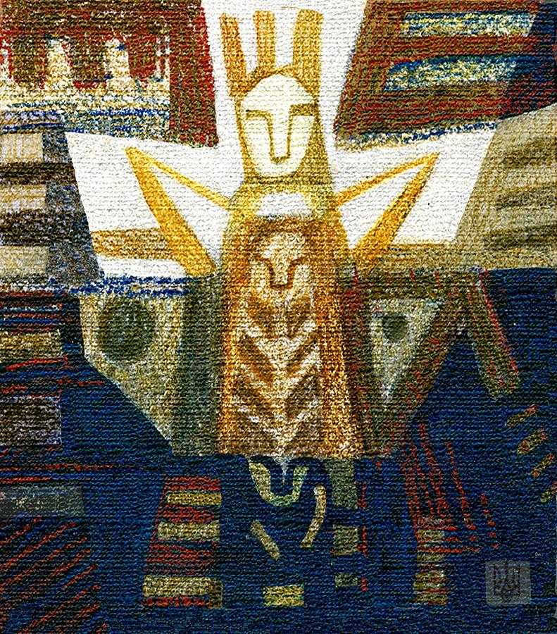 Mythology Painting - Idol by Olesya Kozyra
