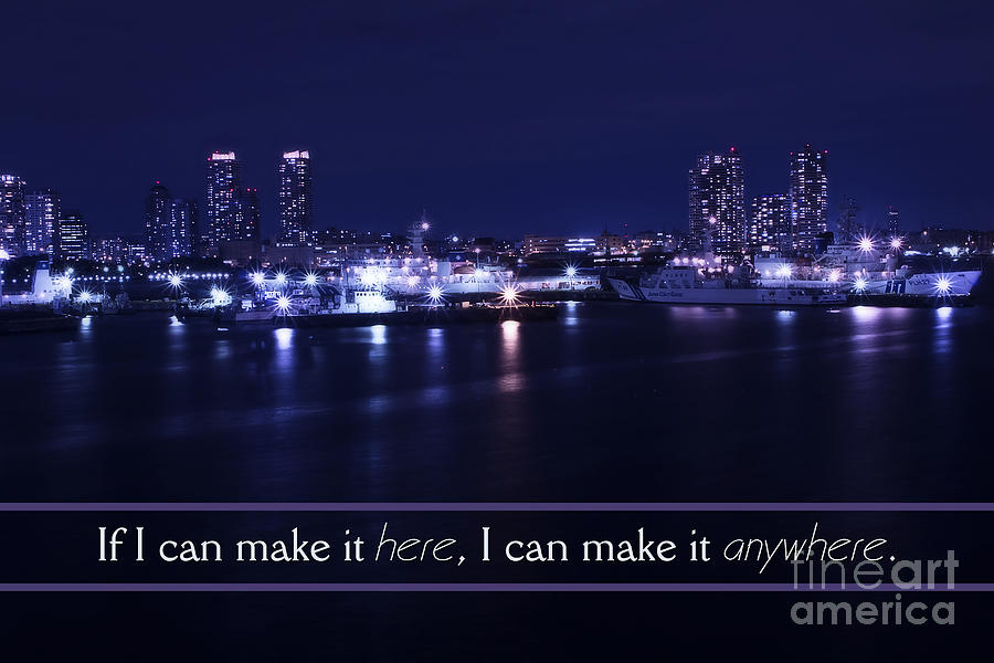 If I Can Make It Here Photograph - If I Can Make It Here by Beverly Claire Kaiya