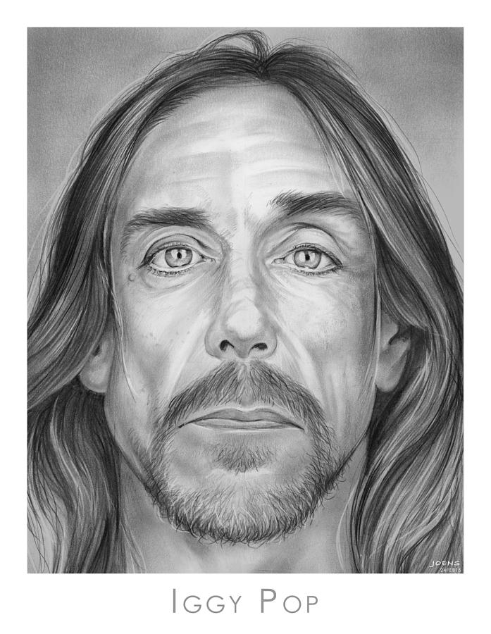 Iggy Pop Drawing