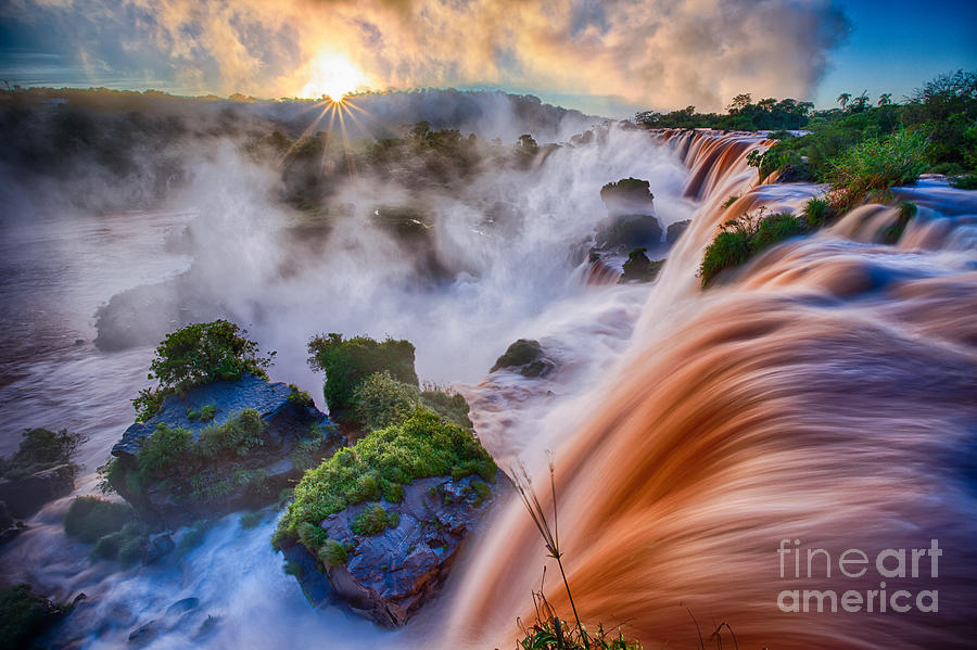 Iguazu Sunrise Photograph