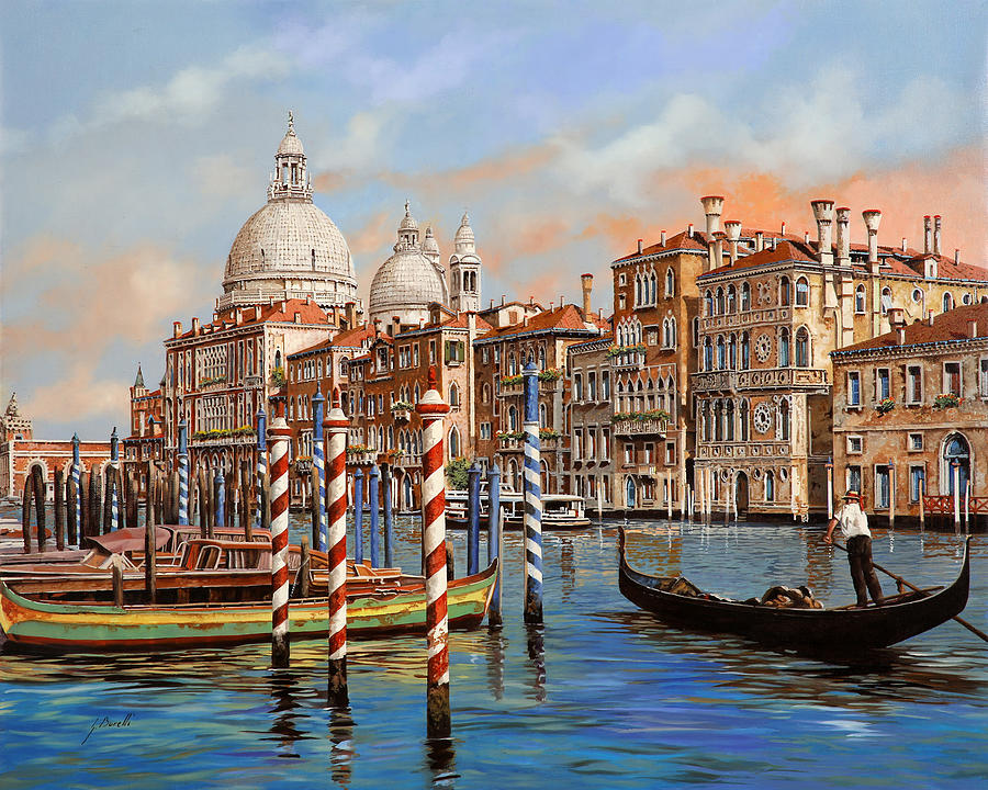 Il Canal Grande Painting