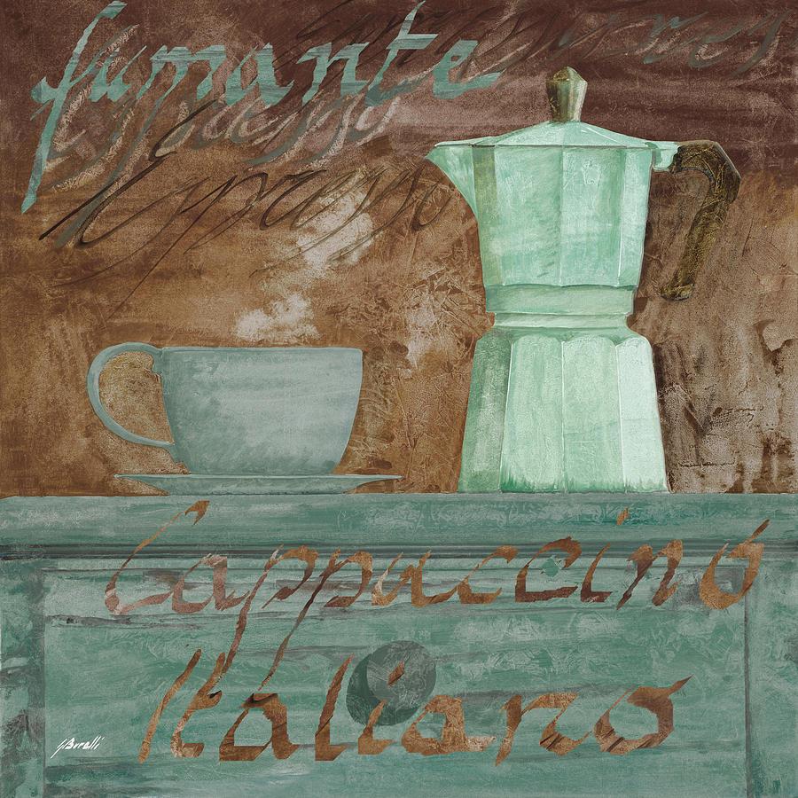 Il Cappuccino E La Moka Painting
