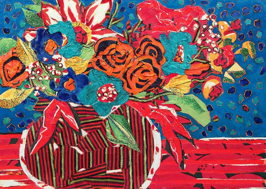 Ilanas Flower Arangement Mixed Media