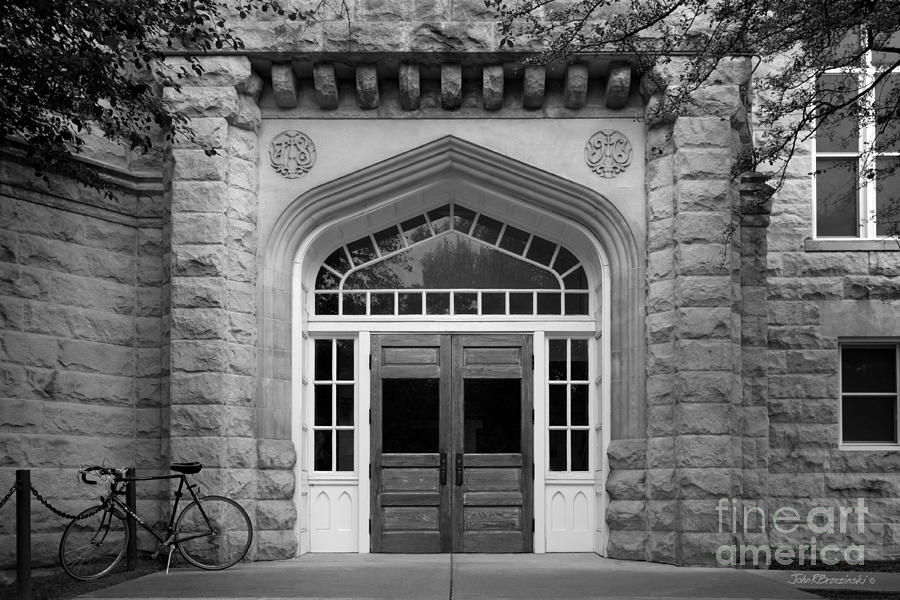 Illinois State University Cook Hall Photograph  - Illinois State University Cook Hall Fine Art Print