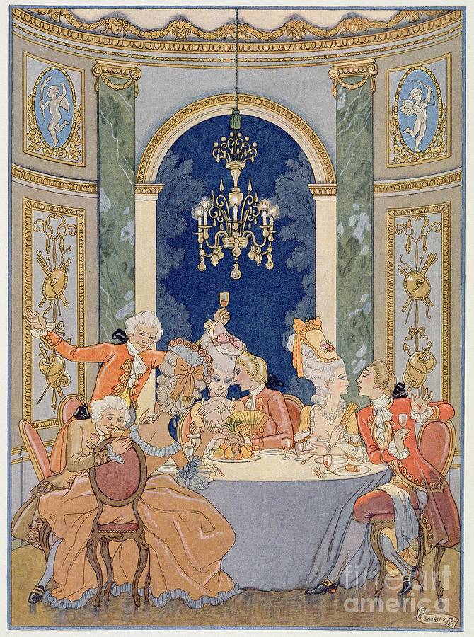Illustration From les Liaisons Dangereuses  Painting