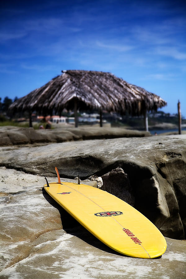 La Jolla Photograph - Im Board by Peter Tellone