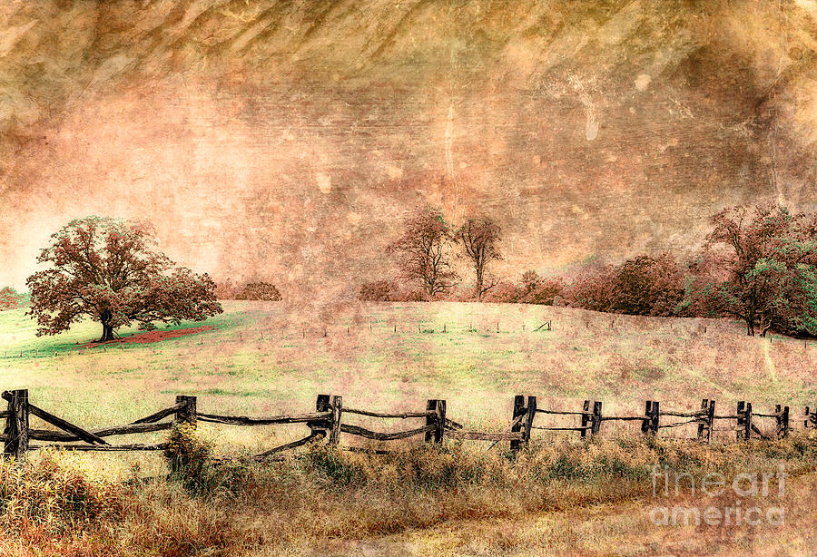 Imaginary Morning On The Blue Ridge II Photograph  - Imaginary Morning On The Blue Ridge II Fine Art Print