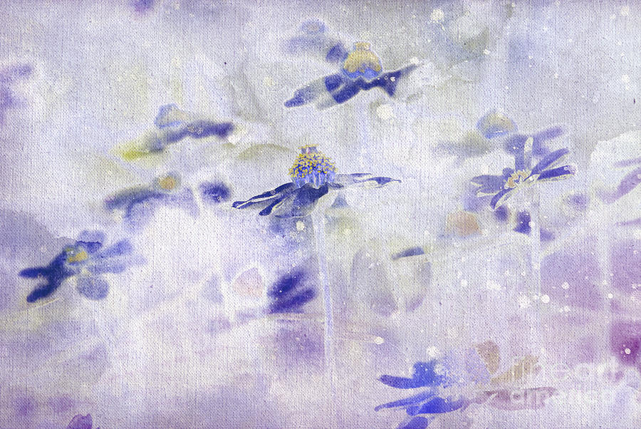 Flowers Painting - Imagine - M11v10 by Variance Collections