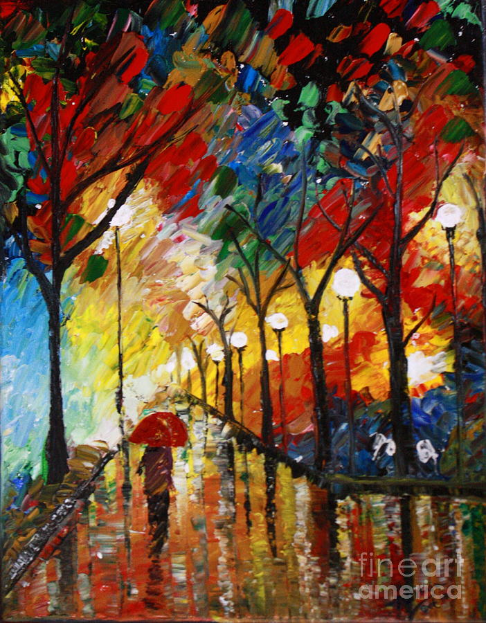 Painting with palette knife tutorial 2015 personal blog for Palette knife painting acrylic