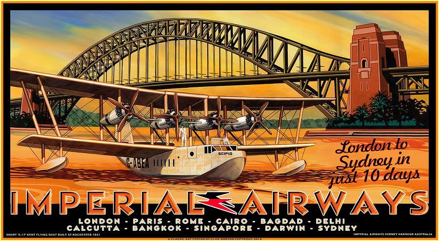 Imperial Airways 2 Mixed Media