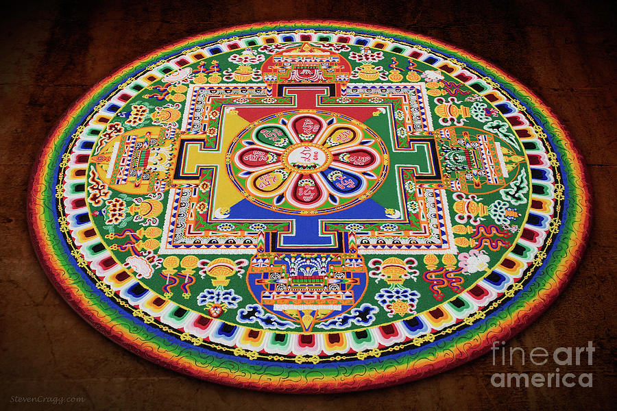 Impermanence - Sand Mandala Photograph