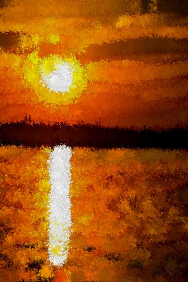 Beach Sunset Painting Artists